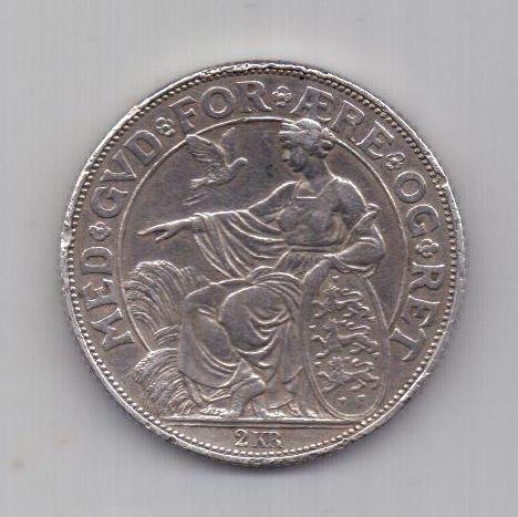 2 кроны 1903 г. Дания