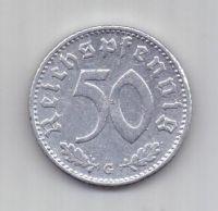 50 пфеннигов 1942 г. редкий. G. Германия