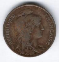 10 сантимов 1904 г. Франция