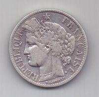 2 франка 1895 г. редкий год. Франция