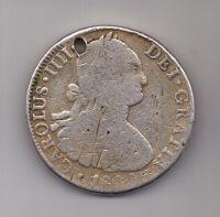 8 реалов 1802 г. Мексика (Испания)