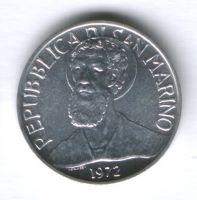 5 лир 1972 г. Сан-Марино