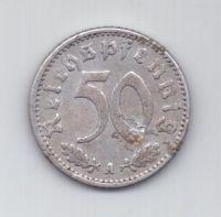 50 пфеннигов 1941 г. A. Германия