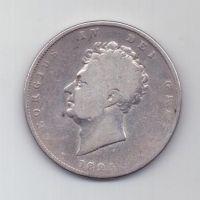1/2 кроны 1825 г. Великобритания