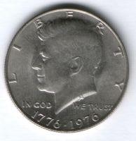 1/2 доллара 1976 г. США, 200 лет независимости