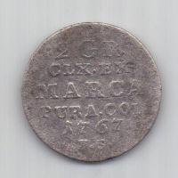 2 гроша 1767 г. Польша