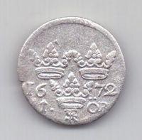 1 оре (эре) 1672 г. Швеция