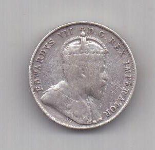 10 центов 1903 г. Канада (Великобритания)