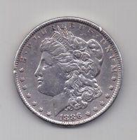 1 доллар 1886 г. США