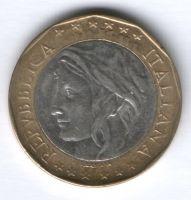 1000 лир 1997 г. Италия