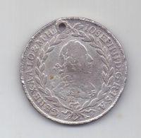 20 крейцеров 1772 г. редкий - H SC .Австрия