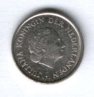 25 центов 1980 г. Нидерланды