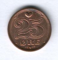 25 эре 1991 г. Дания