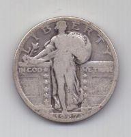 1/4 доллара 1927 г. США