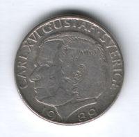 1 крона 1989 г. Швеция