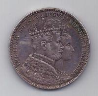1 талер 1861 г. AUNC. Пруссия