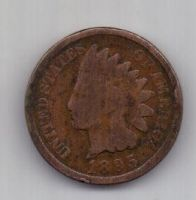 1 цент 1895 г. США