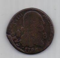 8 мараведи 1796 г. Испания