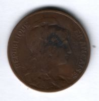 10 сантимов 1914 г. Франция