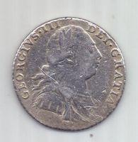 1 шиллинг 1787 г. Великобритания