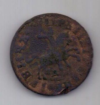 1 копейка 1713 г. Петр I