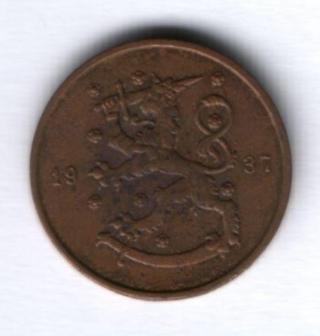 10 пенни 1937 г. Финляндия