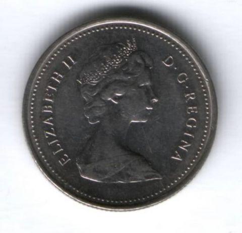 25 центов 1979 г. Канада