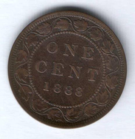 1 цент 1888 г. Канада
