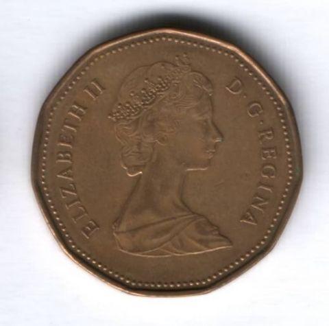 1 доллар 1988 г. Канада