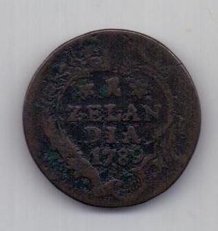 1 дуит 1780 г. Зеландия. Нидерланды