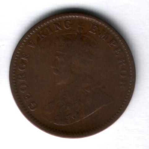 1/4 анны 1936 г. Индия