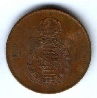 20 рейс 1869 г. XF Бразилия