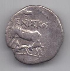 драхма 3-2 век до н.э. Иллирия. Аполлония