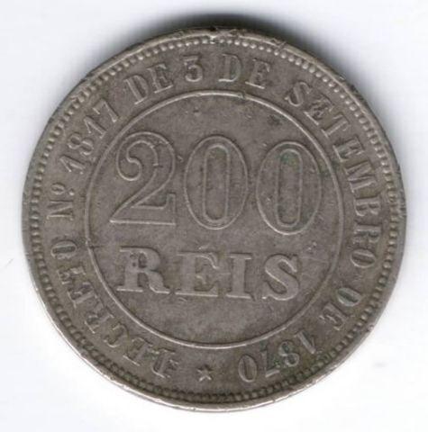 200 рейс 1871 г. Бразилия