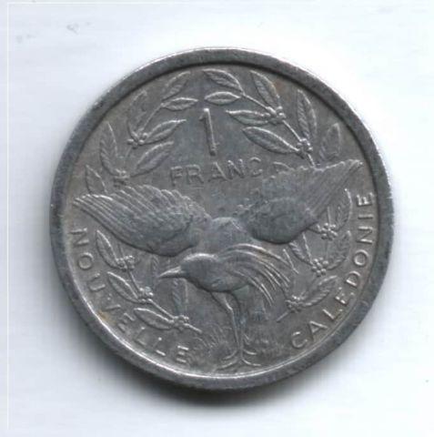 1 франк 1949 г. Новая Каледония