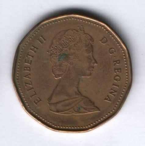 1 доллар 1988 г. Канада, VF