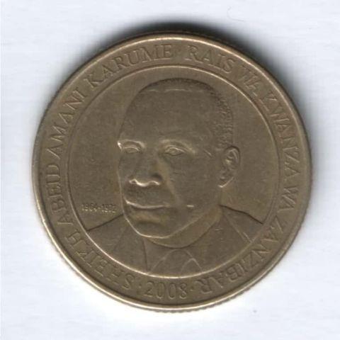 200 шиллингов 2008 г. Танзания