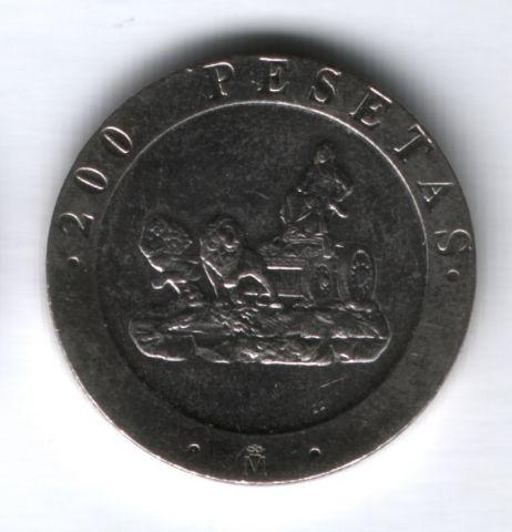200 песет 1990 г. Испания