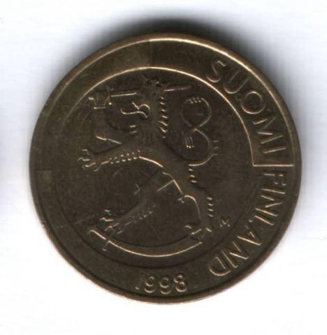 1 марка 1998 г. Финляндия
