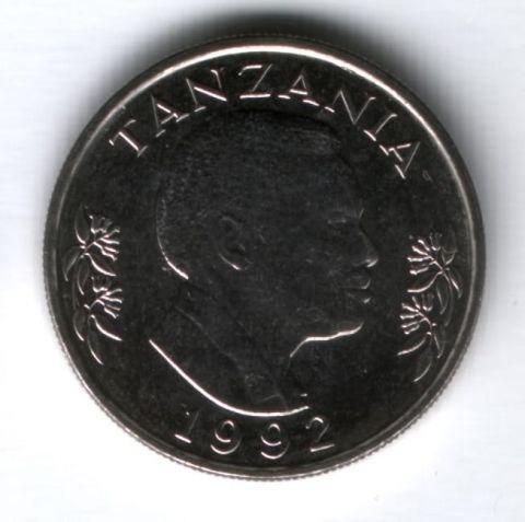 1 шиллинг 1992 г. Танзания