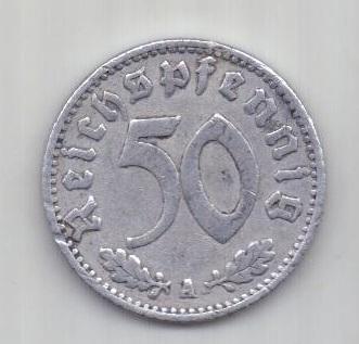 50 пфеннигов 1940 г. Германия