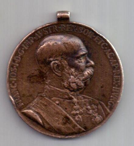 медаль 1898 г. Австрия. Венгрия