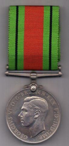 медаль 1939-1945 г. AUNC Оборона Великобритании.