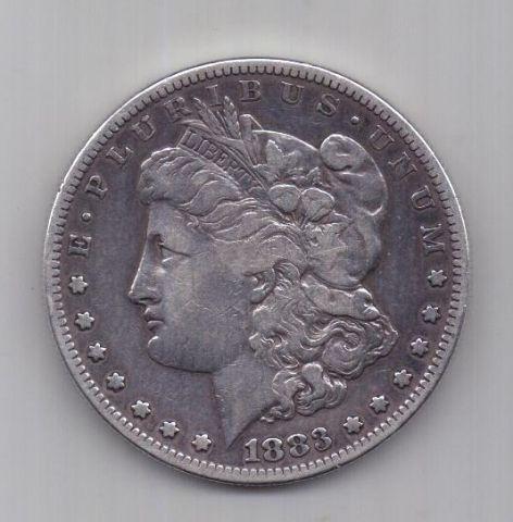 1 доллар 1883 г.  S редкий США