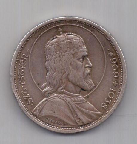 5 пенго 1938 г. Венгрия
